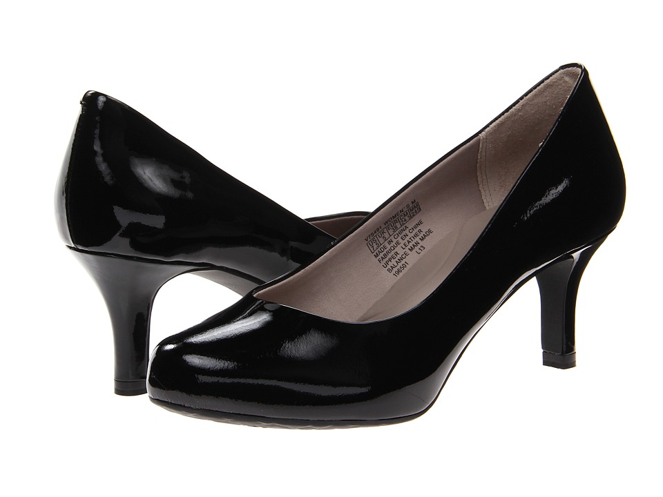 Rockport - Seven to 7 Low Pump (Black Patent) High Heels