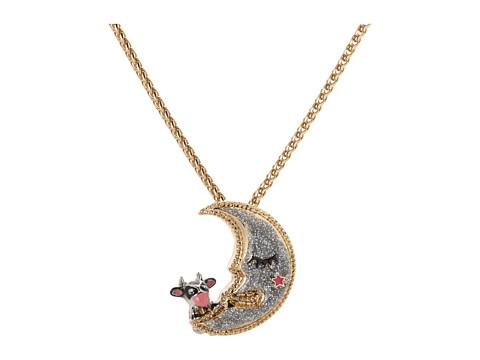 Betsey Johnson Moon Pendant Necklace
