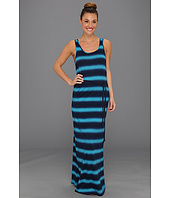 Lucky Brand - Stevee Spray Tie Dye Maxi Dress