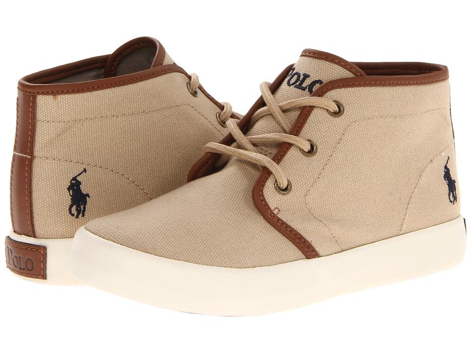 Polo Ralph Lauren Kids - Ethan Mid FA13 (Little Kid) (Khaki Ballistic Canvas) Boys Shoes