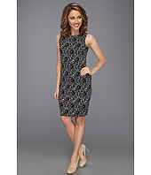 Vince Camuto - Sleeveless Chantilly Floral Sheath Dress