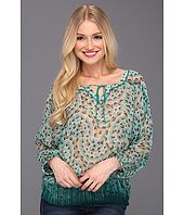 Lucky Brand - Joplin Spiral Jetty 3/4 Sleeve Top