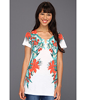 Lucky Brand - Tropical Mirror S/S Tee