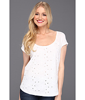Lucky Brand - Amazon Lily Cut Out S/S Tee