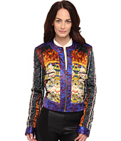 Just Cavalli - Quilted ST Tibetan Pillow Print Jacket