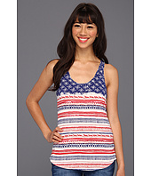 Lucky Brand - Tribal Flag Racerback Tank