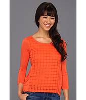 Lucky Brand - Ellis Cut Out Top