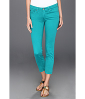 AG Adriano Goldschmied - Stilt Crop Sateen in Bermuda Green