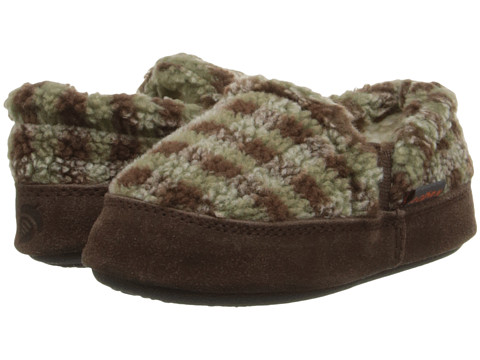 Acorn Kids Colby Gore Moc (Toddler/Little Kid/Big Kid) - Brown Check