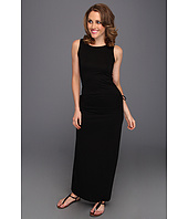 Three Dots - Lightweight Viscose Tank Dress w/ Adjustable Skirt