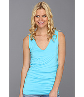 Three Dots - V-Neck Double Layer Tank
