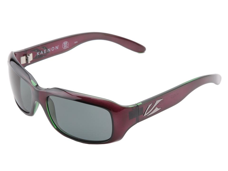 Kaenon Bolsa SR91 Polarized Eggplant G12 Polarized Sport Sunglasses