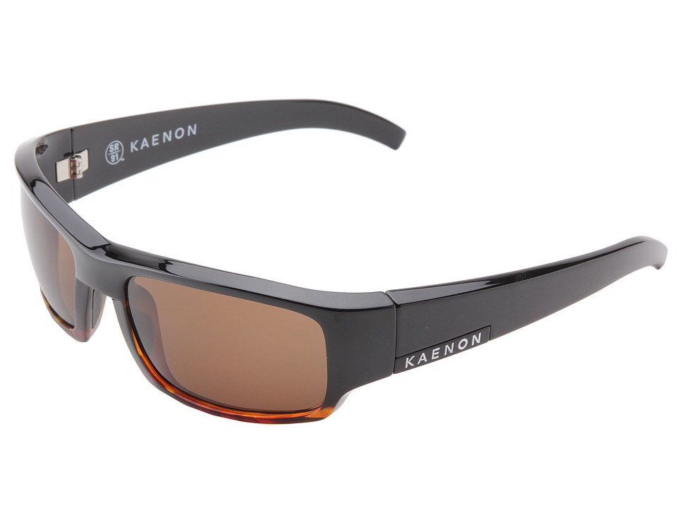 Kaenon Arlo SR91 Polarized Black Tortoise B12 Plastic Frame Sport Sunglasses