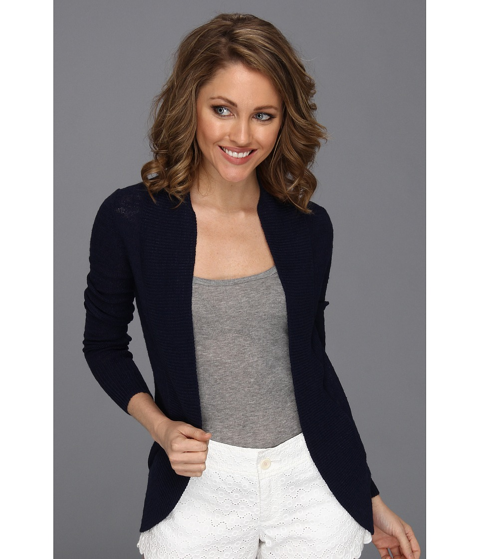 Lilly Pulitzer Amalie Cardigan True Navy Womens Sweater