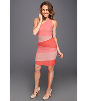 BCBGMAXAZRIA - Kira One Shoulder Colorblock Dress