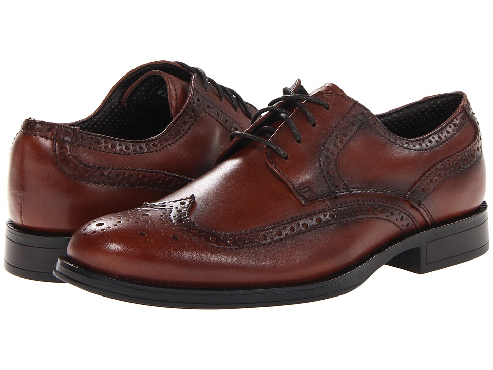 Dockers Moritz Wingtip Oxford (Dark Tan) Men