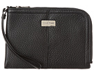 Cole Haan - Village City Wristlet (Black) - Bags and Luggage