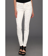 Dittos - Dawn Mid-Rise Skinny in White Destruction