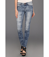 Dittos - Dawn Mid-Rise Skinny in Discharge Patchwork