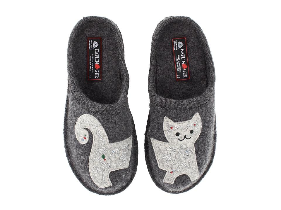 Haflinger Lizzy Grey Womens Slippers
