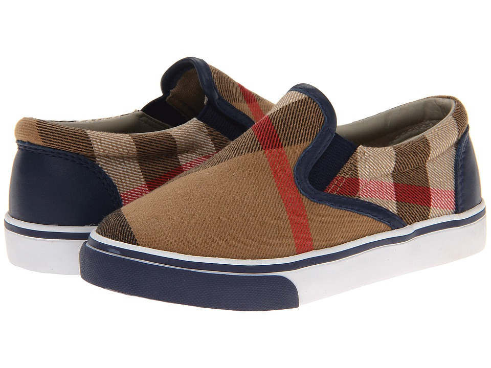 Burberry Kids - Linus (Toddler/Little Kid) (Navy) Boys Shoes