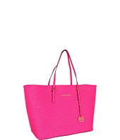 MICHAEL Michael Kors - Medium Jet Set Perforated Travel Tote