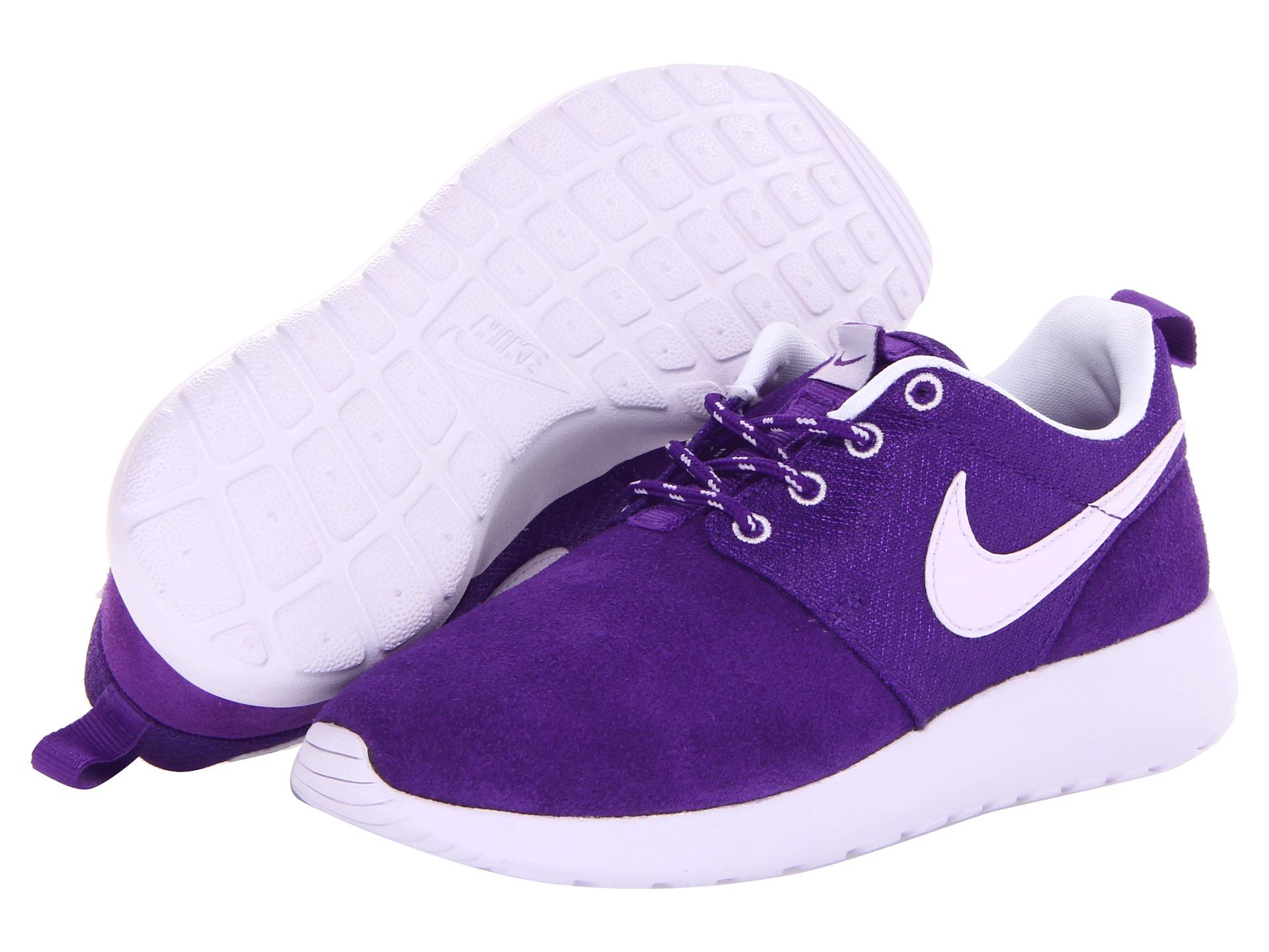 Nike Kids Roshe Run Little Kid Big Kid Electro Purple ...