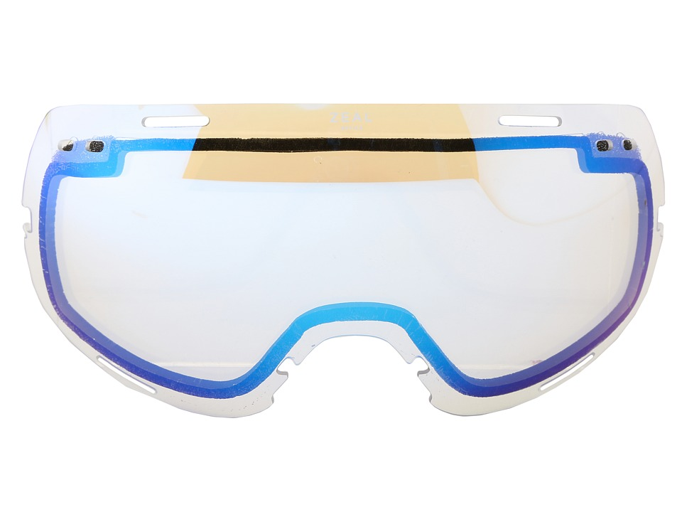 Zeal Optics Voyager Lens (Low Light Clear Lens w/Sky Blue Mirror) Goggles