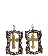 Gypsy SOULE - Framed Cross Earrings