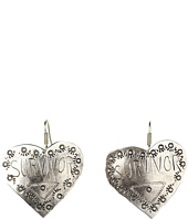 Gypsy SOULE - Survivor Heart Drop Earrings