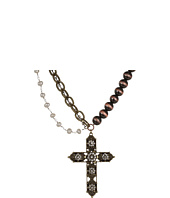 Gypsy SOULE - Rhinestone Cross Necklace