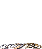 Gypsy SOULE - Mixed Metal Mesh Bangle Set