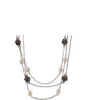 LAUREN Ralph Lauren - 3 Row Pearl Pave Illusion Necklace