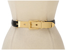 LAUREN Ralph Lauren - Vachetta Belt With Letter Opener Buckle (Black)