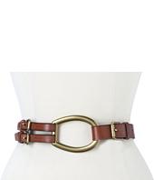 LAUREN by Ralph Lauren - Vachetta Tri-Strap Belt