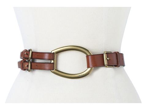 LAUREN Ralph Lauren Vachetta Tri-Strap Belt