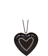 Tarina Tarantino - Emerald Pretty Heart Pendant Necklace