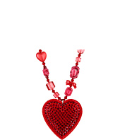 Tarina Tarantino - Crystal Pave Heart Necklace