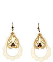 Tarina Tarantino - Emerald Pretty Orante Drop Earrings