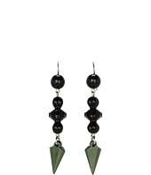 Tarina Tarantino - Emerald Pretty Thorn Earrings
