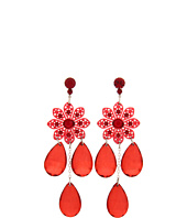 Tarina Tarantino - Flower Chandelier Earrings