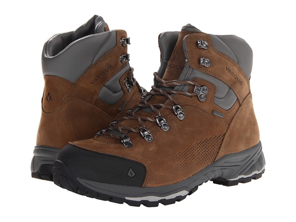 Vasque - St. Elias GTX (Bungee Cord/Neutral Gray) Mens Hiking Boots
