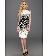 Maggy London - Engineered Printed Sheath Dress