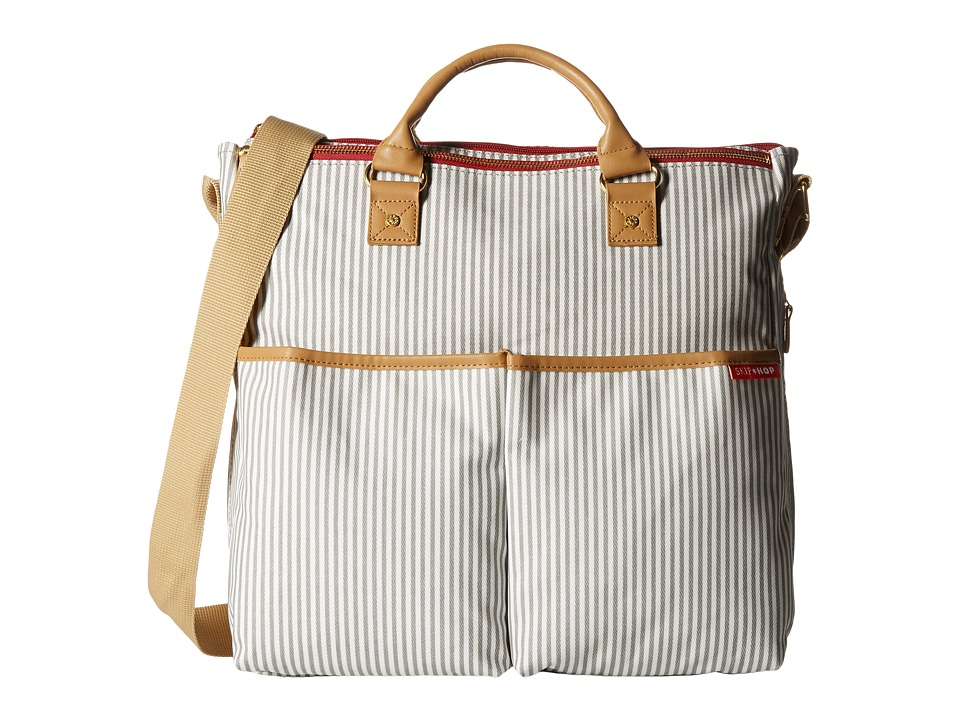 Skip Hop Duo French Stripe Stripe Diaper Bags