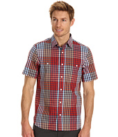 Perry Ellis - Slim Fit Exploded Plaid Shirt