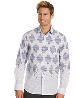 Perry Ellis - Regular Fit Honey Comb L/S Shirt