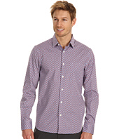 Perry Ellis - Slim Fit Geo Print L/S Shirt