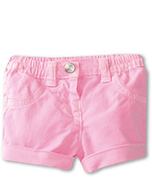 United Colors of Benetton Kids - Denim Fluro Shorts (Infant)