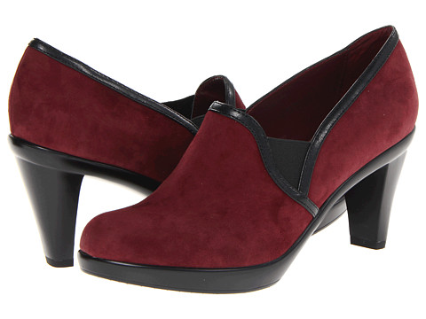 Bella-Vita - Walden (Oxblood Kidsuede/Black) - Footwear