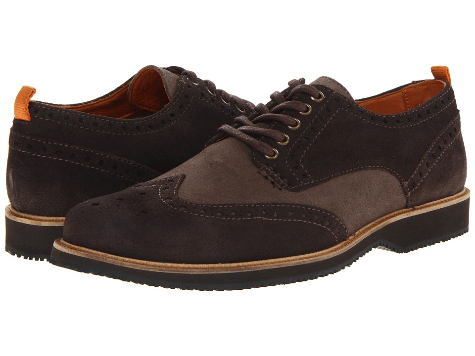 Tommy Bahama - Elliot Grey Mens Lace up casual Shoes $178.00 AT vintagedancer.com